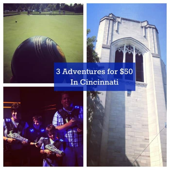 3 Adventures for $50 in Cincinnati 2