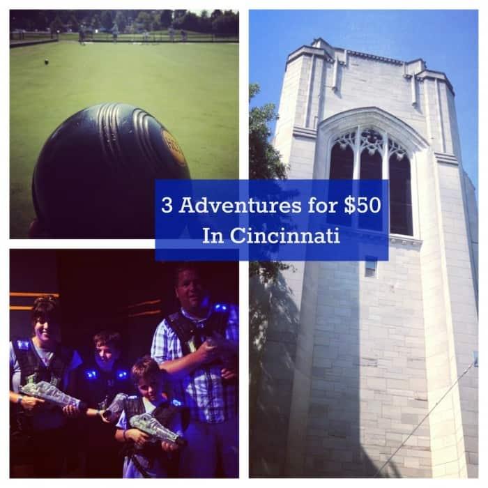 3 Adventures for $50 in Cincinnati 2