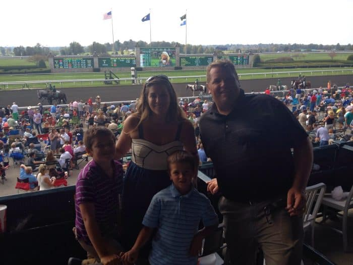Keeneland Horse Race Track Lexington, Kentucky