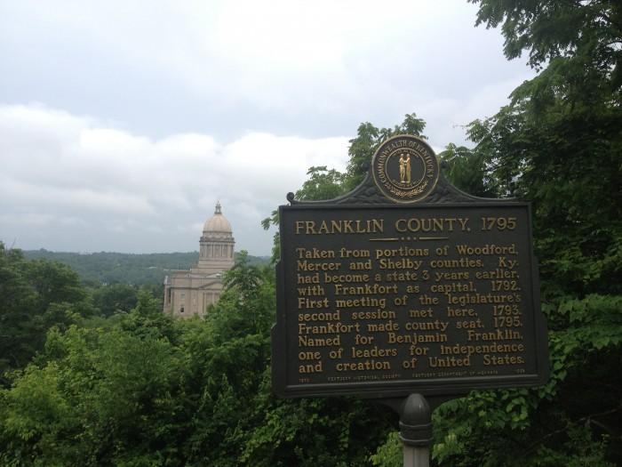 Buffalo Trace Distillary Tour Frankfort Kentucky Bourbon