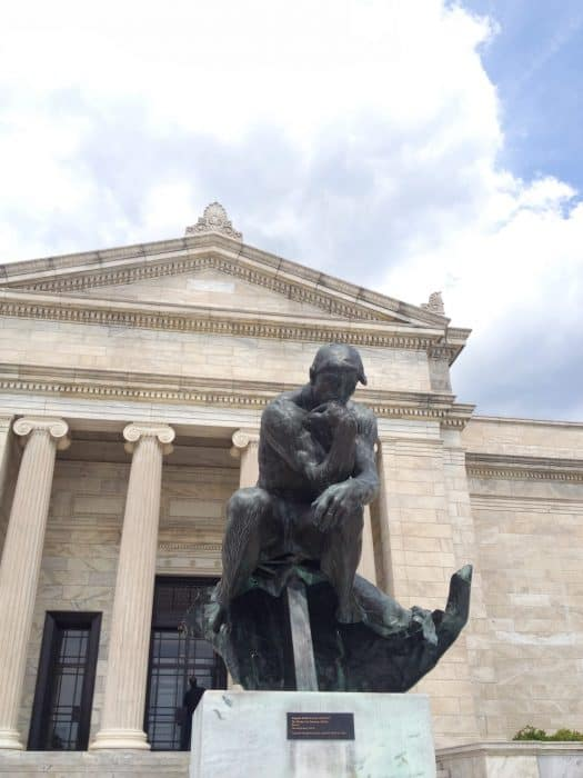 The Thinker Cleveland Museum of Art
