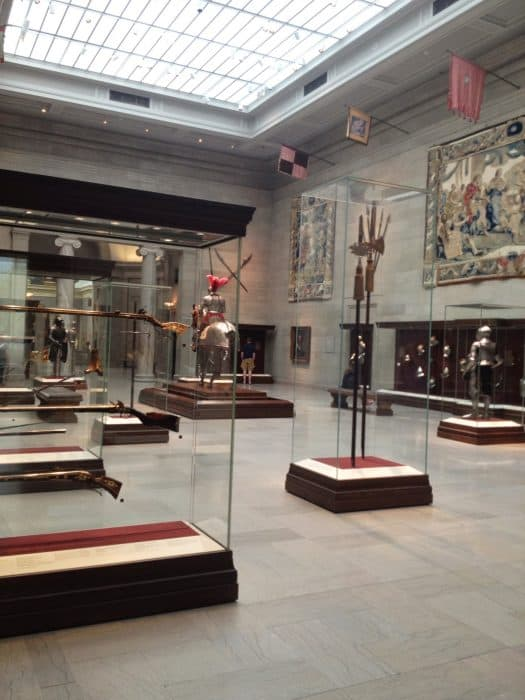 weapons at the Cleveland Museum of Art