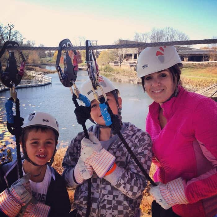 Ziplining at the Creation Museum Petersburg Kentucky