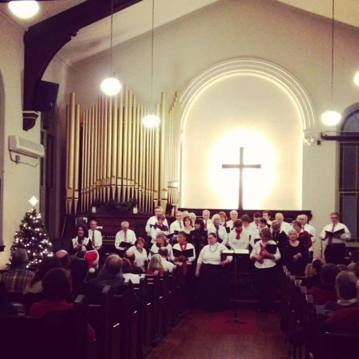 Christmas Saengerfest Choir Festival Over the Rhine Cincinnati Ohio