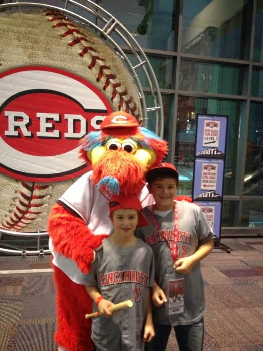 Cincinnati Reds Redsfest at Duke Energy Convention Center