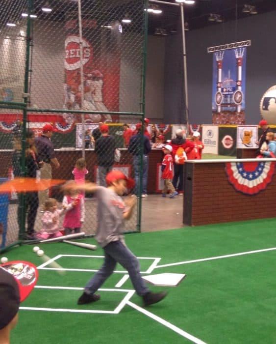 Cincinnati Reds Redsfest at Duke Energy Convention Center