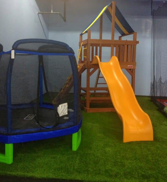 Fun things to do at kidzoo indoor playground for Indoor play slide