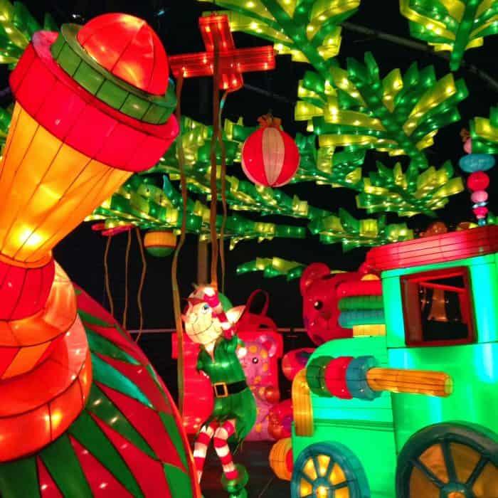KaLightoscope Christmas At The Galt House Louisville, Kentucky