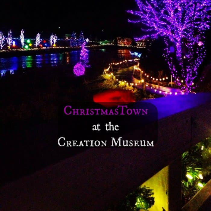 Christmastown At The Creation Museum Adventure Mom