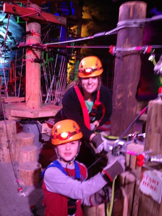 Mega Quest at Mega Cavern in Louisville, Kentucky
