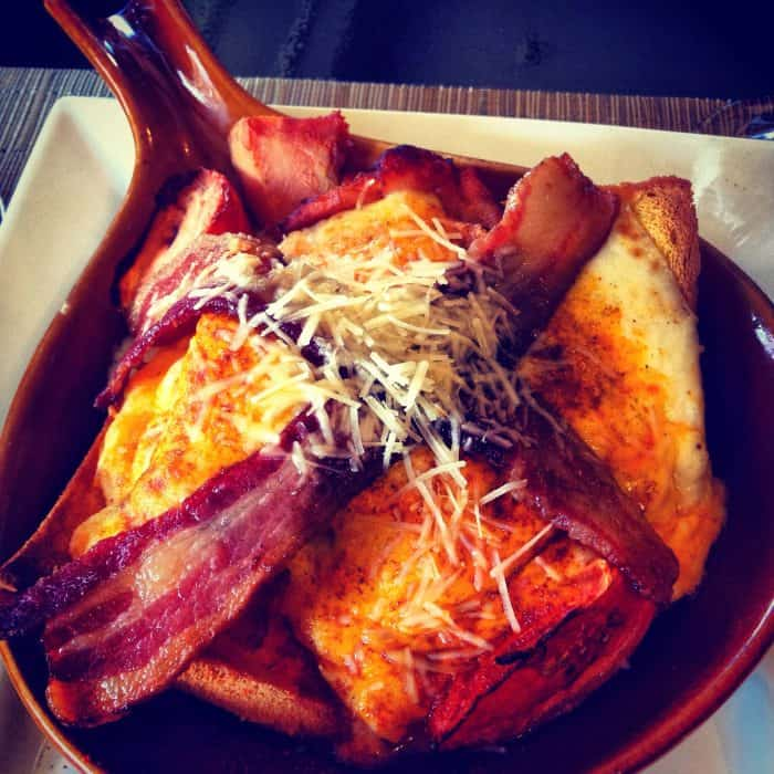 The Original Hot Brown Sandwich at The Brown Hotel in Louisville, Kentucky