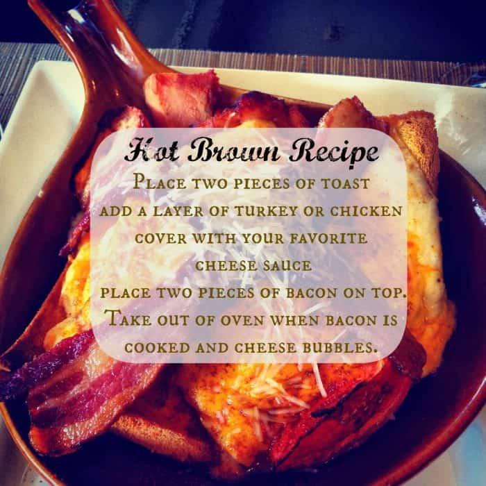 hot brown sandwich recipe