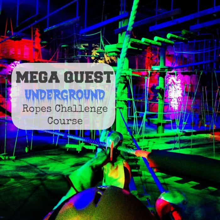 Mega Quest- Fully Underground Ropes Challenge Course