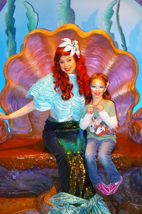 Disney World Orlando Florida Little Mermaid Ariel