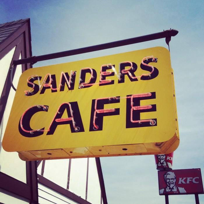 Harland Sanders Cafe & Museum in Corbin Kentucky
