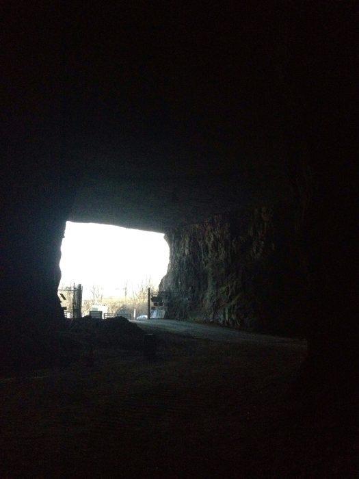 underground zipline Mega Cavern Mega Zips in Louisville, Kentucky