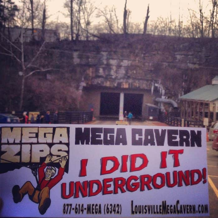 Mega Cavern Mega Zips in Louisville, Kentucky