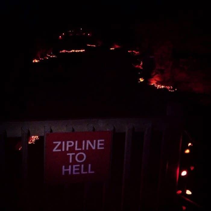 Underground Ziplining Louisville Mega Cavern Zips Zipline Kentucky Christmas Lights