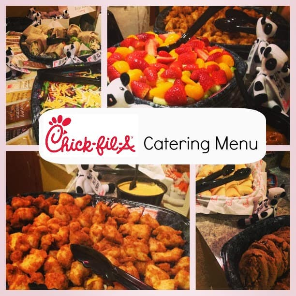 Chick Fil A Houston Rd Catering Menu