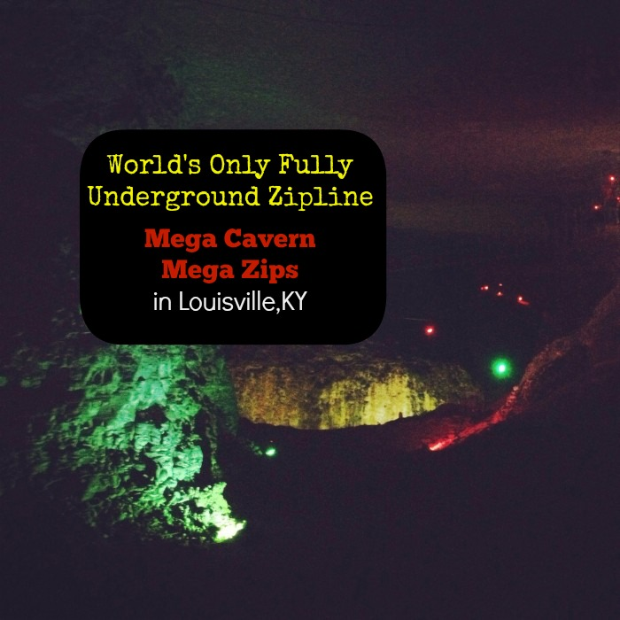World's Only Fully Underground Zipline at Mega Cavern in Louisville