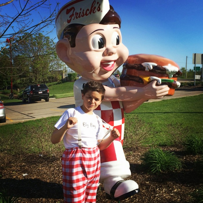 Frisch's Founder's Day dress like Big Boy