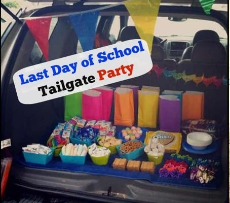 Last Day of School Tailgate Party