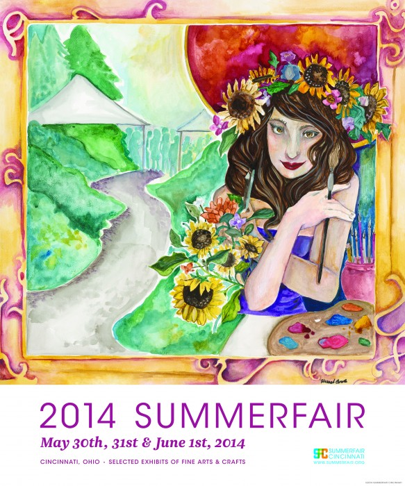 2014 Summerfair Poster