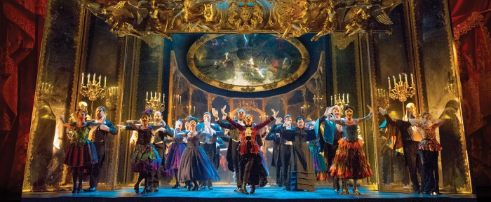 THE PHANTOM OF THE OPERA 3 - The Company performs Masquerade - photo by Alastair Muir (1)