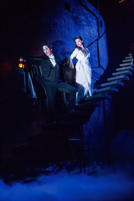 THE PHANTOM OF THE OPERA 5 - Cooper Grodin and Julia Udine - photo by Matthew Murphy-6601