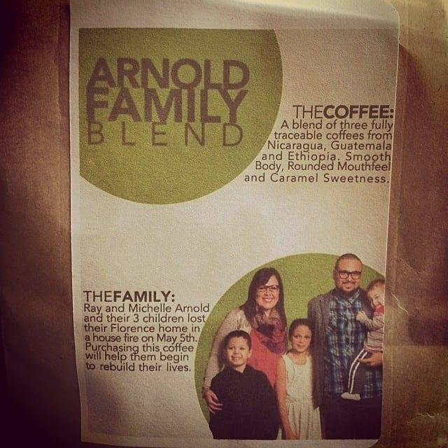 arnold family blend Carabello cofee