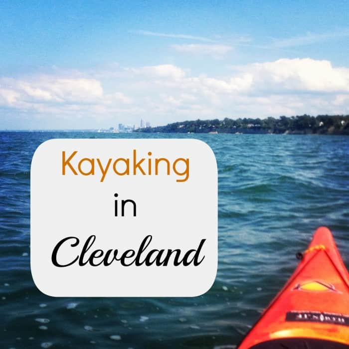 Kayaking in Cleveland
