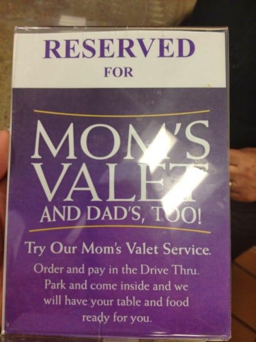 mom's valet