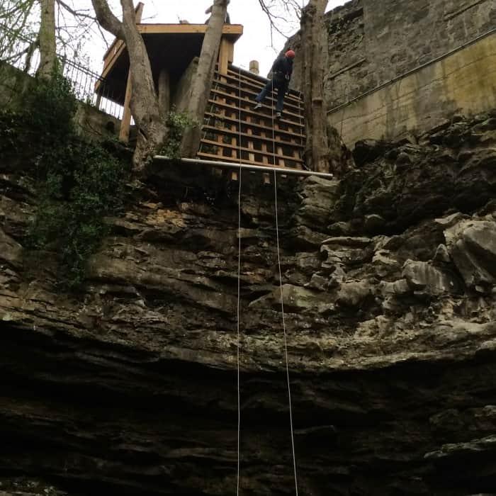 Rappel American Cave Museum ~ Hidden River Cave