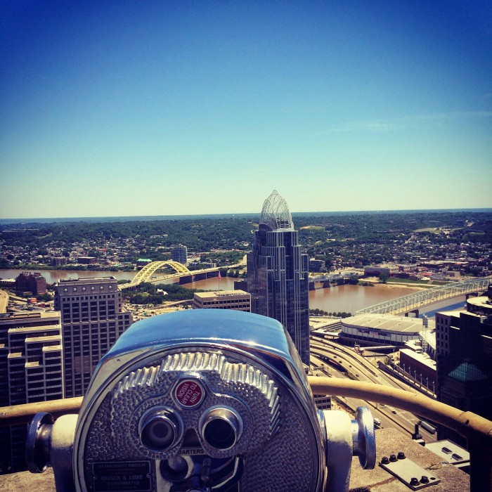 Carew Tower Observation Deck in Cincinnati