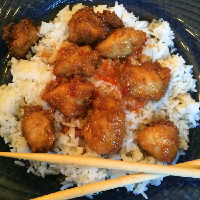 Zesty Asian Chicken