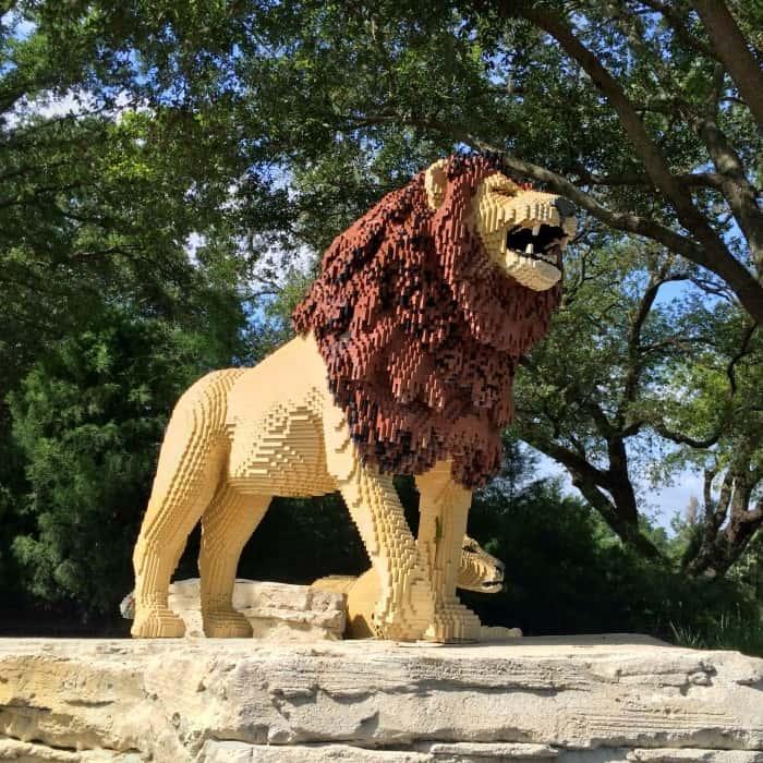 LEGO lion LEGOLAND Florida