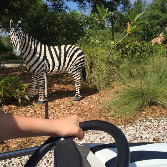 LEGO zebra LEGOLAND Florida