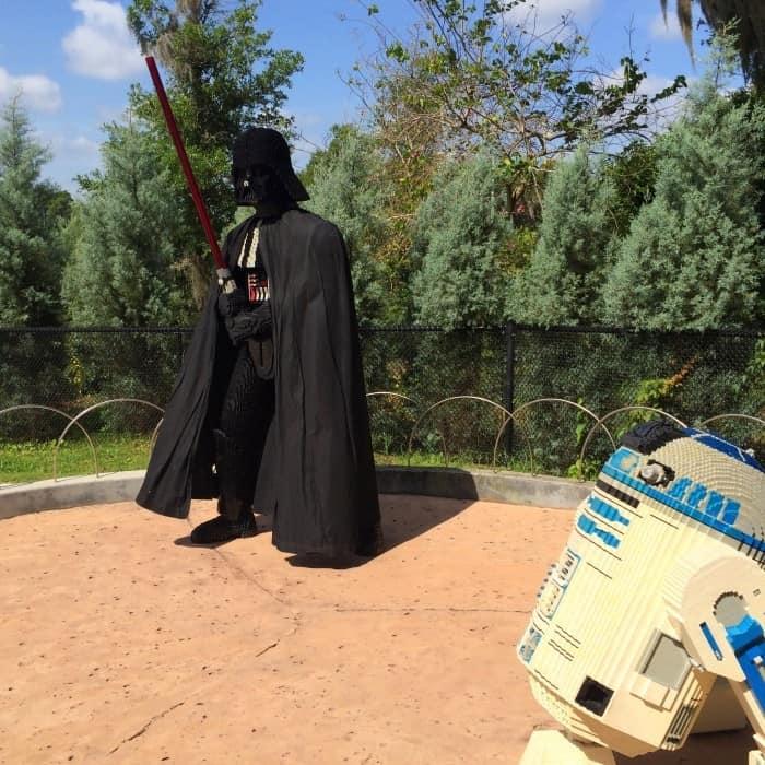 LEGOLAND Florida Star Wars characters