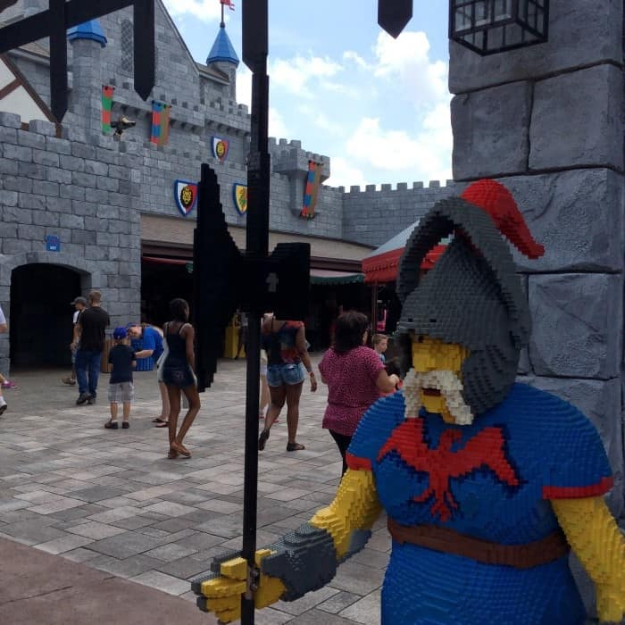 LEGOLAND Florida castle