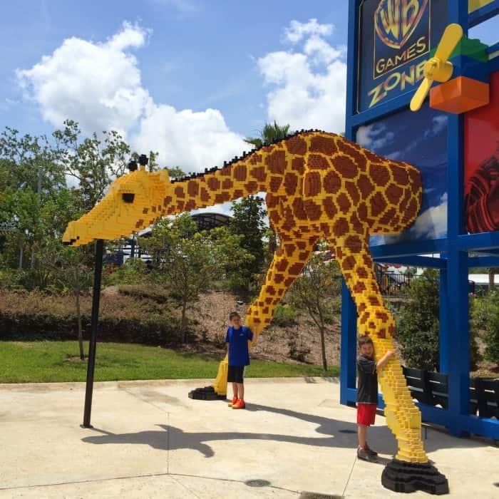 LEGOLAND Florida giraffe