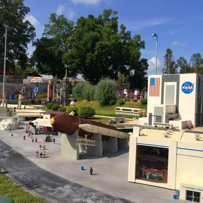 LEGOLAND Florida miniland NASA