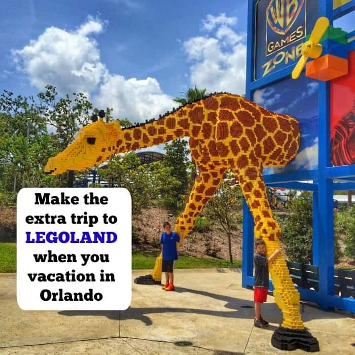 Make the extra trip to LEGOLAND when you vacation in Orlando