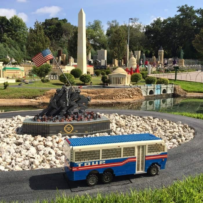 miniland LEGOLAND Florida Monuments