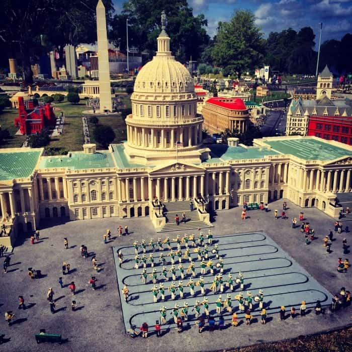 miniland at LEGOLAND Florida