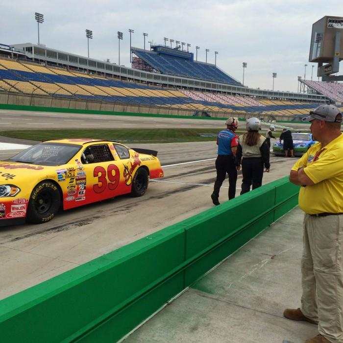 Richard Petty Ride-Along Experience at Kentucky Speedway