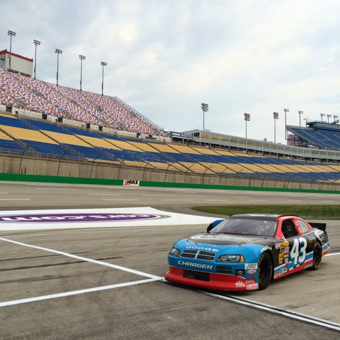 Richard Petty Ride-Along Experience at Kentucky Speedway