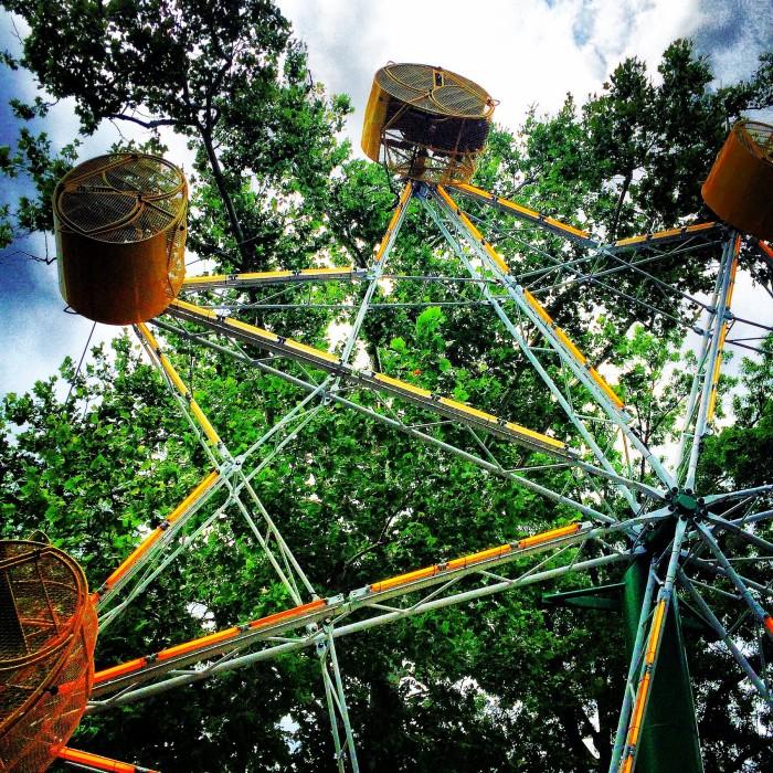 Coney Island Amusement Park in Cincinnati, Ohio