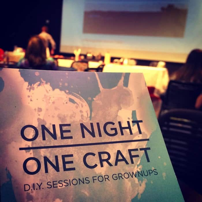 One Night, One Craft at the CAC in Cincinnati