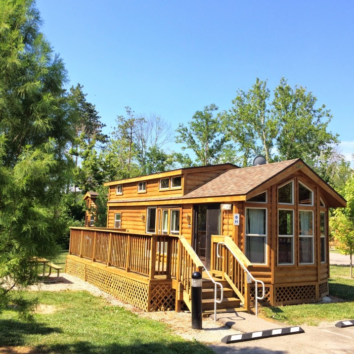 rent cabins at Winton Woods
