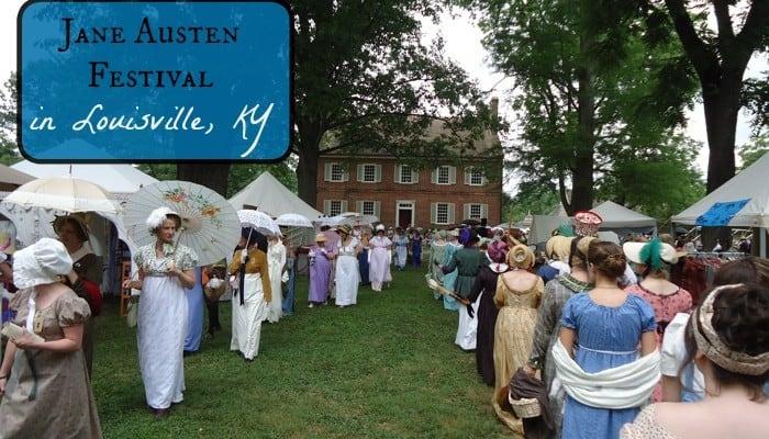 Jane Austen Festival in Louisville, KY